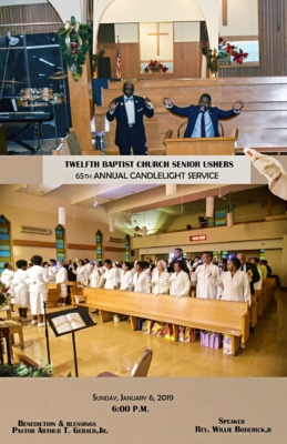 2019 ushers candlelight1