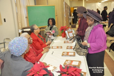 Harriot Robinson Book Signing