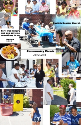 Community Picnic 2 july