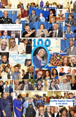 Pauline Thomas 100 birthday march 2